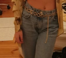Pimkie Cinturón de cadena color oro