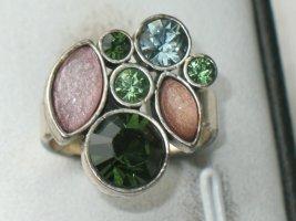 Goldfluss PILGRIM Design Ring silber