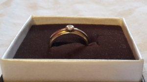 Goldring Bandring GG 585 mit Diamant