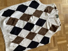 Golfino Sweter bez rękawów z cienkiej dzianiny Wielokolorowy