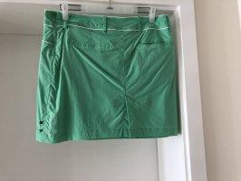 Falda pantalón verde hierba-verde