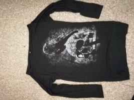 Gothicana by EMP Raven Skull Langarmshirt