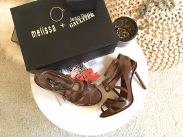 Melissa Strapped Sandals brown recycled material