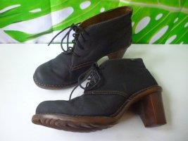 Gr. 40 EL Naturalista Ankle boots Absatz 7.5cm guter Zustand schwarzgrau hoher Neupreis