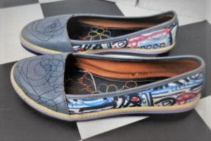 Art Slip-on bleu