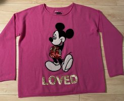 Grace Mickey Mouse Pulli in Pink-M- neu❤️