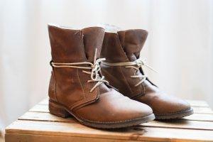 5th Avenue Bottines à lacets brun cuir