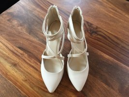 Graceland Damen Hochzeitsschuhe Beige/Champagner Gr. 38 NEU !!