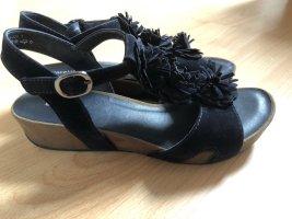Graceland- Schwarze Sandale