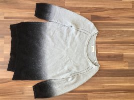 grau-schwarz melierter Pullover von DIESEL