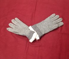0039 Italy Padded Gloves multicolored wool
