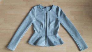 Balmain for H&M Blazer en jersey gris clair