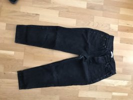 Pull & Bear Carrot Jeans dark grey-anthracite