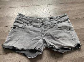 Take Two Jeans elasticizzati argento-grigio Cotone