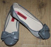 graue London Rebel Ballerinas in Gr. 36