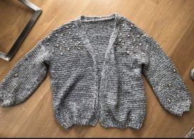 Sheinside Veste tricotée en grosses mailles multicolore