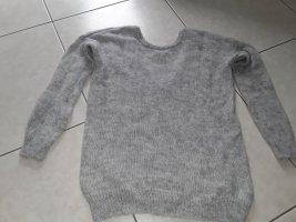 Joseph Janard Crewneck Sweater silver-colored mohair