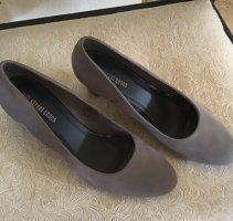 StreetShoes Tacones de plataforma gris-negro