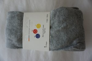 Woolen Trousers light grey-silver-colored cotton