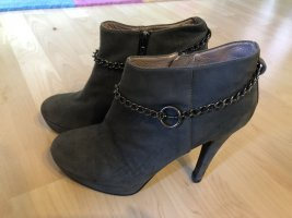 Graue suede ankle boots, 39
