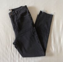 Graue Topshop Moto Orson Jeans 28/32 M