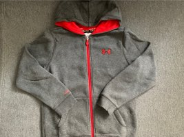 Under armour Giacca fitness grigio scuro