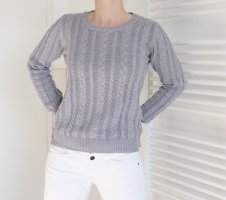 Grauer Frühlings-Pullover Gr. S | #Springtime #Basic #Pullover