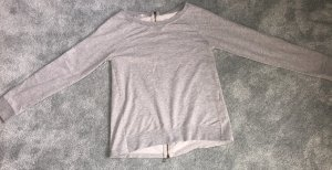 40Weft Knitted Sweater light grey