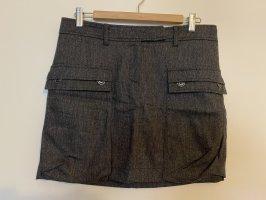 Mexx Falda de lana gris oscuro