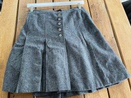 C&A Wollen rok zilver-grijs Wol