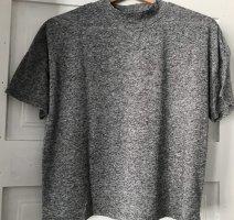 Graues Shirt mit leichtem Turtleneck l Selected Femme