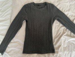 Graues T-Shirt von Tally Weijl, Größe XS