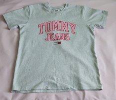 Graues Tommy Hilfiger T-Shirt