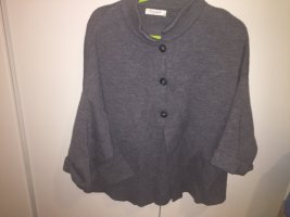 Cocogio Knitted Cardigan grey wool