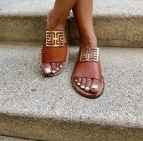 Comfortabele sandalen bruin Leer
