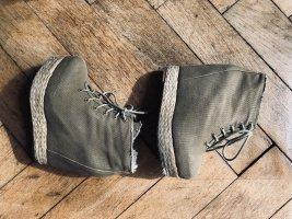 Green Plateau Jeffrey Campbell Heels Size 36