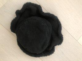 Grevi Sombrero acampanado negro Cuero