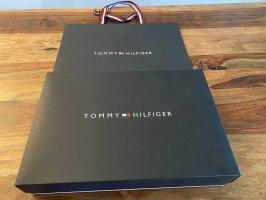 Tommy Hilfiger Bufanda de punto gris