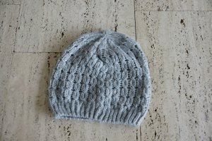H&M Bonnet en crochet multicolore acrylique