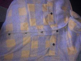 Veste d'extérieur gris clair-violet