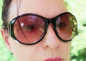 Bijou Brigitte Okrągłe okulary przeciwsłoneczne Wielokolorowy