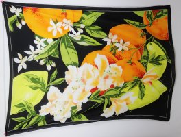 Beach Towel multicolored polyester