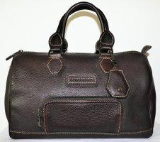 Longchamp Handbag dark brown leather
