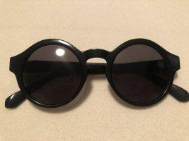Große Runde Sonnenbrille