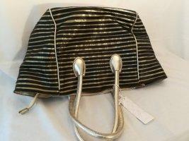 Comprador color oro Imitación de cuero