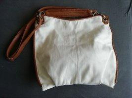 Große stylische weiße Tasche von More&More