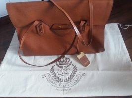 Lauren by Ralph Lauren Handbag camel leather