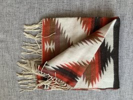 Athmosphere Fringed Scarf multicolored