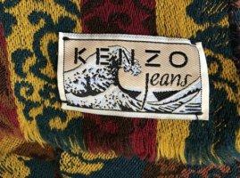Großer Schal von KENZO - leuchtende Herbst-Farben - NEU