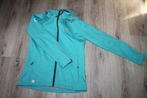 Softshell Jacket mint-turquoise polyester